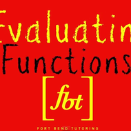 Function Notation: Evaluating and Simplifying Functions