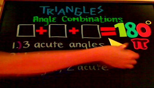 Triangle Angle Combinations