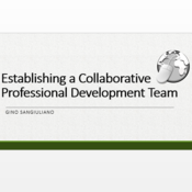 Establishing a Collaborative Professional Development Team