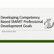 Developing Competency Based SMART Professional Development Goals