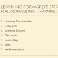 Professional Learning Standards and Professional Development