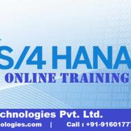 SAP S/4 HANA Online Training