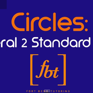Equations of Circles: Converting General Form to Center-Radius Form (Standard Form)