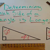 Determining the Longest Side of a Triangle