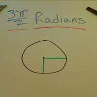 Three Halves Pi Radians