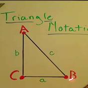 Triangle Notation