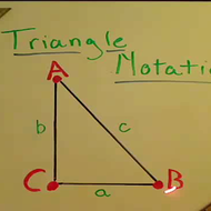 Triangle Notation