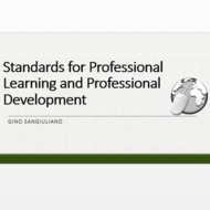 Standards for Professional Learning and Professional Development