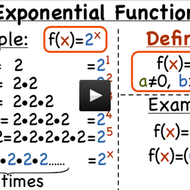 Virtual Nerd Videos - All About Exponential Functions