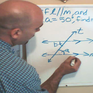 Solving for an Alternate Interior or Exterior Angle