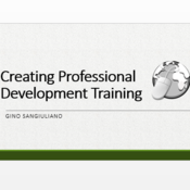 Creating Professional Development Training