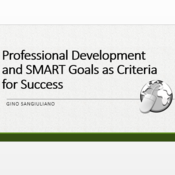 Professional Development and SMART Goals as Criteria for Success