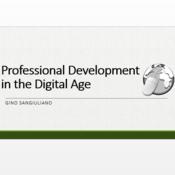 Professional Development in the Digital Age