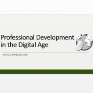 Professional Development in the Digital Age