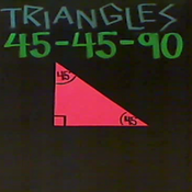 45-45-90 Triangles