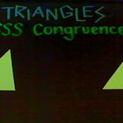 SSS Triangle Congruence
