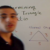 Determining the Ratio of Similar Triangles