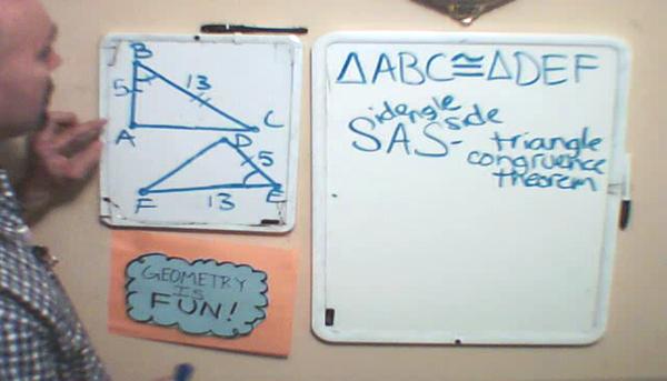 SAS Triangle Congruence