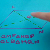 Double Diagonals of a Parallelogram
