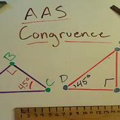 AAS Triangle Congruence