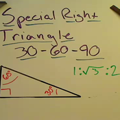 30-60-90 Triangles