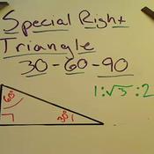 30-60-90 Triangles