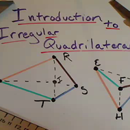 Irregular Quadrilaterals