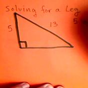 Solving for a Leg