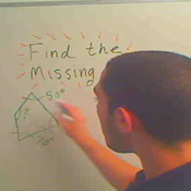 Determining the Missing Angle of a Quadrilateral
