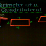Solving for the Perimeter of a Quadrilateral
