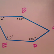 Solving for the Missing Angle of a Polygon