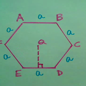 The Area of a Regular Polygon