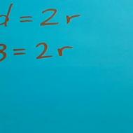 Converting Between Diameter and Radius
