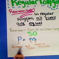 Perimeter of Regular Polygons