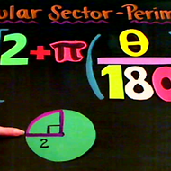 The Perimeter of a Circular Sector