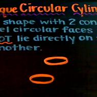 Oblique Circular Cylinder