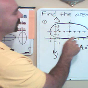 Determining the Area of an Ellipse from the Radii