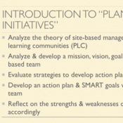 "Introduction to ""Plan Site-Based Initiatives"""