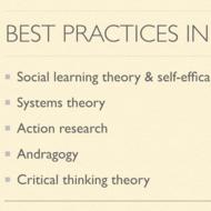 Best Practices in SBM