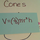 Solving for the Volume of a Cone