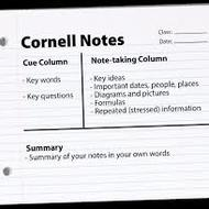 TMS- Cornell Note Taking Strategy