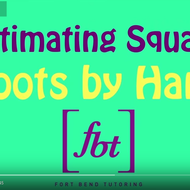 Estimating Square Roots to the Nearest Tenth by Hand