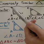 Inversely Similar Triangles