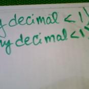 Testing a Generalization