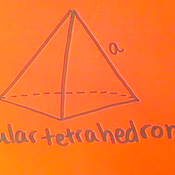 Solving for the Surface Area of a Regular Tetrahedron