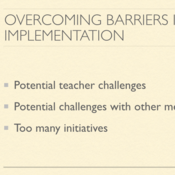 Overcoming Barriers in Plan Implementation