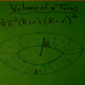 Volume of a Torus