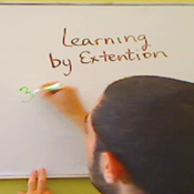 Learning by Extension