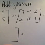 Adding Matrices