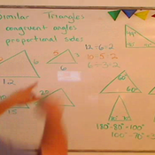 Determining Angles of Similar Triangles